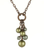 Rosaline Necklace - Green